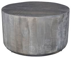 mango wood coffee table distressed gray farmhouse coffee tables by inspire at home