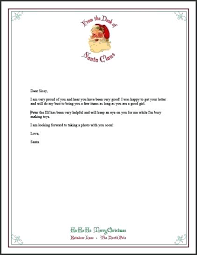 Free Letter From Santa Word Template Letter From Free Printable Stationery Inside Letterhead