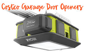 garage door opener at costco
