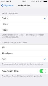 ääniohjaus iphone 7