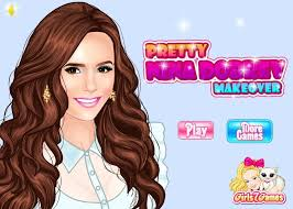 pretty nina dobrev makeover game