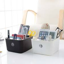 simple desk organizers.  Organizers Simple Desk Table Organizer Plastic Box Makeup Organizers Debris Storage  Boxes Home Office Baskets Containers In U0026 Bins From  Intended R