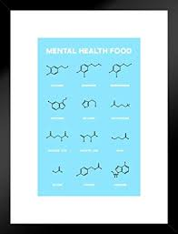 Amazon Com Poster Foundry Mental Health Food Brain