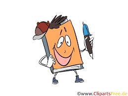 Clipart maskotka książka, szkoła, nauka, nauczanie, edukacja