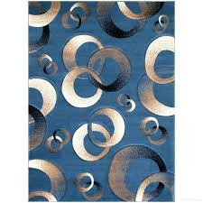 circles blue area rug circle pattern rugs modern red and black abstract print design contemporary multi