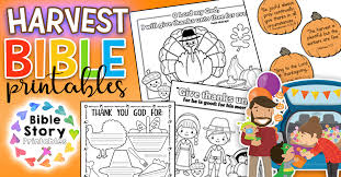 If you have any questions, please contact me. Thanksgiving Bible Printables Bible Story Printables