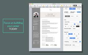 Resume Templates For Pages Mac Styles Free Resume Template Pages