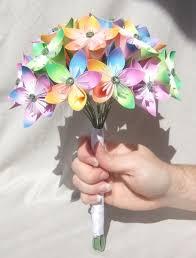 Paper Origami Flower Bouquet Paper Origami Flower Bouquet Under Fontanacountryinn Com