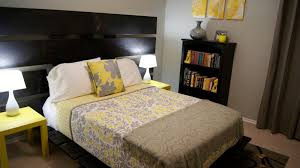 Bedroom Ideas Yellow And Grey Yellow And Gray Bedding That Will