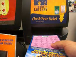 Illinois Lottery Vending Machines Impressive Using The Texas Lottery 'Check A Ticket' Machine To Scan A Winning