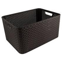Корзина Curver <b>Rattan</b> Style <b>Box</b> L 32 л купить с доставкой по ...