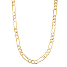 Light Figaro Chain Mcs Jewelry 14 Karat Yellow Gold Light Figaro Chain Necklace