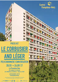 Le Corbusier And Léger Polychromatic Conversation By Centre