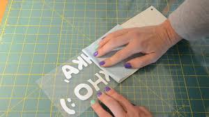 Инструкция - Как клеить виниловые <b>наклейки</b>. - YouTube