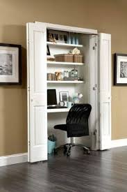 closet into office. organizing tips for small spaces closet office johnson hardware keeping desk as is add shelving which would help with the recessed u0027wholeu0027 that there into