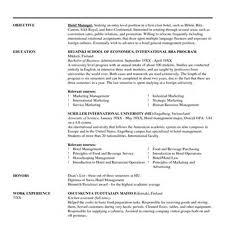 Best Hotel Sales Coordinator Resume Images - Simple resume Office .