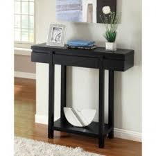 black console table with storage. Winsome Black Sofa Table With Storage 11 Wood Rectangular Console Open Shelves For Modern Living Room Design Charming Your Interior Small Furniture .