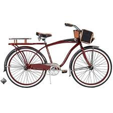 26 huffy champion men s cruiser bike red walmart com