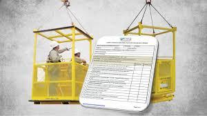 Man Basket Design Pdf Crane Suspended Personnel Platform Manbasket Permit