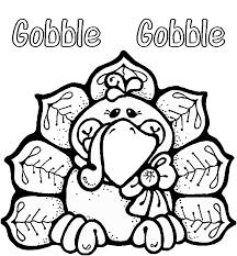 Thanksgiving Clipart To Color - ClipartXtras
