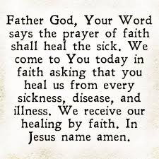 Prayer For Healing Quotes