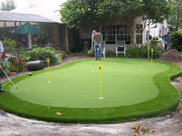 residential synthetic putting green pictures eclectic landscape