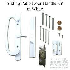 M Patio Door Handle Kit Vinyl Sliding White Pella Storm Latch Mechanism