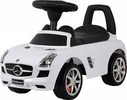 Машина-<b>каталка Mercedes-Benz SLS AMG</b> белая - купить в ...