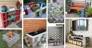 Creative way decor garden home cinder block Repurpose 28 Practical Functional And Creative Ways To Use Cinder Blocks Homebnc 28 Best Ways To Use Cinder Blocks Ideas And Designs For 2019