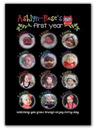 Babys First Year Photo Keepsake