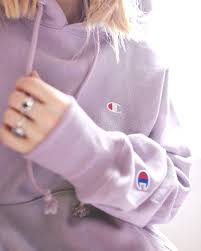 Light Purple Champion Shirt Champion Lilac Hoodie Its So Amazing I Love The Color