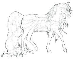 Horse Coloring Pages Breyer Extraordinary Pictures Jadoxuvaletop