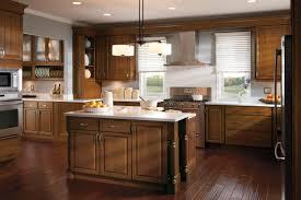 Kitchen Cabinet Color Schemes White U Shape Wood Cabinets Color Scheme Kitchen Cabinet Stain