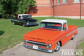 All Chevy chevy c10 body styles : 1966 and 1964 Chevy C10-Double Whammy-Custom Classic Trucks - Hot ...