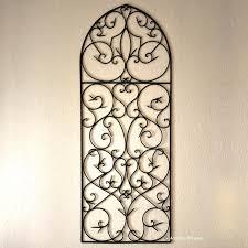 large wrought iron wall decor cheap