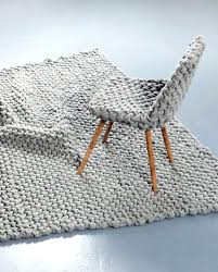 chunky knit rug photo 2 of 6 chunky knit chair cover and rug blanket purl on pearl giant knit rug chunky knit rug australia
