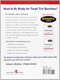 schaum s solved problems in physics schaums outline schaum s 3 000 solved problems in physics schaums outline series amazon co uk alvin halpern 9780071763462 books