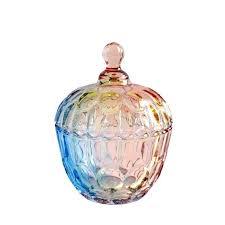 perfect small jam jars elegant european storage tank colorful glass jewelry candy jar jam