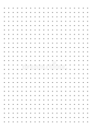 Dot Grid Paper Graph Paper 1 Cm On White Background Vector