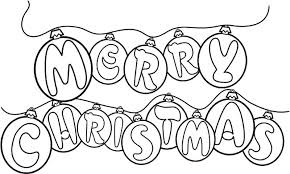 Small Picture Coloring Pages That Say Merry Christmas Happy Holidays