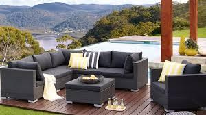 Newport 7 Piece Outdoor Modular Lounge Setting Outdoor Lounges