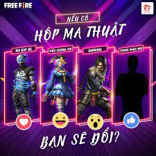 Garena Free Fire - Bạn ủng hộ cho bộ trang phục nào vào hộp ma thuật🌌 ♥️ Ma  búp bê 😆 Tiểu cương thi 😲 Samurai Hay 1 trang phục hoàn toàn