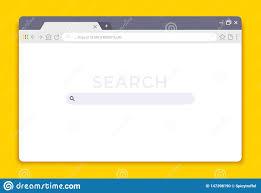 Browser Design Image Browser Interface Website Window Mockup Internet Screen