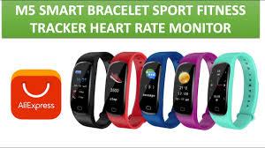 <b>M5 Smart</b> BraceletFitness Tracker <b>Heart</b> Rate Monitor Call Reminder ...