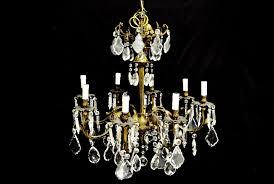heavy 8 lights italian chandelier 1 of 3