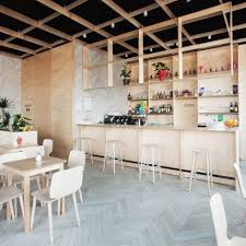bar interiors design. Interesting Design Sanja Premrn Combines Plywood And Chevronpatterned Tiling To Create  Throughout Bar Interiors Design M