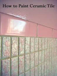how to paint ceramic tile paint tiles kitchens and
