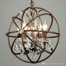 chandelier pendant light industrial lighting restoration hardware vintage crystal chandelier pendant lamp iron orb chandelier rustic