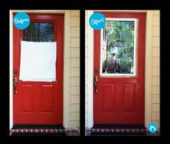 broken door glass replacement for a door transformation