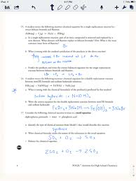 chemical reaction types worksheet answers switchconf